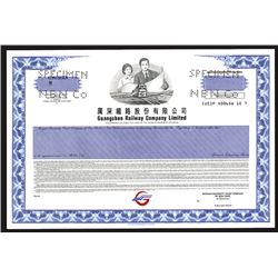 Guangshen Railway Company Limited, Specimen ADR Stock Certificate.