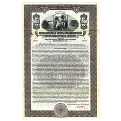 Vamma Water Power Co., 1927 Specimen Bond