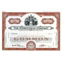 Dobeckmun Co., ca.1930-1950 Specimen Stock Certificate
