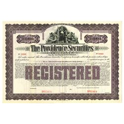 Providence Securities Co., 1957 Specimen Bond