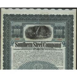Southern Steel Co., Specimen Bond.