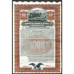 United States Steel Corp., Specimen Bond.