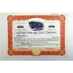 Lockhart Iron & Steel Co. 1949.