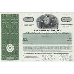 Home Depot, Inc. 1984 Specimen Bond.