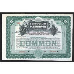 Underwood Typewriter Co., ca.1910-1919