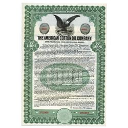 American Cotton Oil Co. 1919 Specimen Bond.