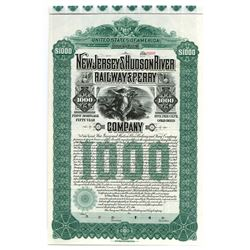 New Jersey and Hudson River Railway Ferry Co., 1900 Specimen Bond