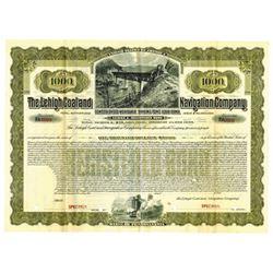 Lehigh Coal and Navigation Co., 1904 Specimen Bond