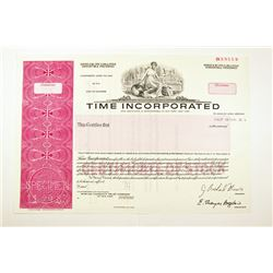 Time Inc., 1983 Specimen Bond