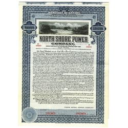 North Shore Power Co., 1907 Specimen Bond