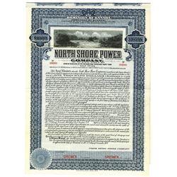 North Shore Power Co., 1907 Specimen Bond