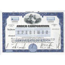 Amoco Corp., 1989 Specimen Stock Certificate