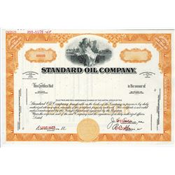 Standard Oil Co., 1969 Specimen Stock Certificate