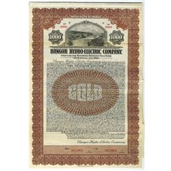 Bangor Hydro-Electric Co., 1930 Specimen Bond