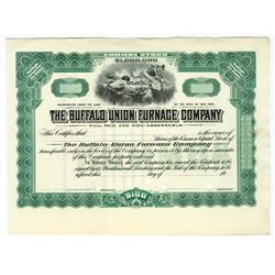 Buffalo Union Furnace Co., ca.1930-1940 Specimen Stock Certificate