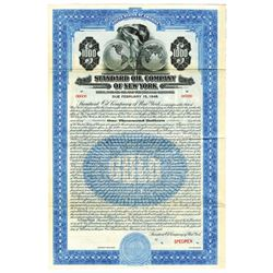 Standard Oil Co. of New York, 1928 Specimen Bond