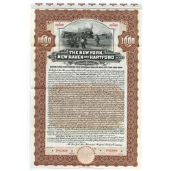 New York, New Haven and Hartford Railroad Co., 1904 Specimen Bond