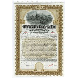 New York, New Haven and Hartford Railroad Co., 1906 Specimen Bond