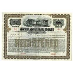 New York, New Haven and Hartford Railroad Co., 1913 Specimen Bond