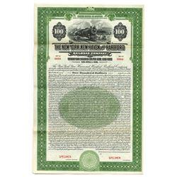 New York, New Haven and Hartford Railroad Co., 1925 Specimen Bonds