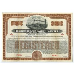 New York, New Haven and Hartford Railroad Co., 1927 Specimen Bonds