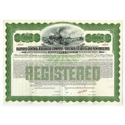 Illinois Central Railroad Co. and Chicago, St. Louis and New Orleans Railroad Co., 1913 Specimen