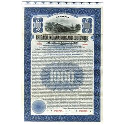 Chicago, Indianapolis and Louisville Railway Co., 1916 Specimen Bond