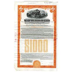 New York, Chicago, and St. Louis Railroad Co., 1945 Specimen Bond