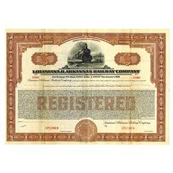 Louisiana and Arkansas Railway Co., 1929 Specimen Bond
