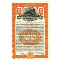 New Orleans, Texas and Mexico Railway Co., 1928 Specimen Bond