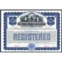 Rock Island, Arkansas and Louisiana Railroad Co., Specimen Bond.