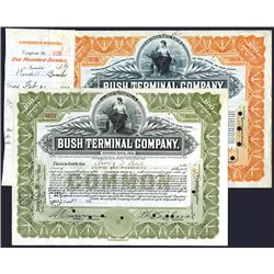 Bush Terminal Co., Issued Stock Lot of 2.