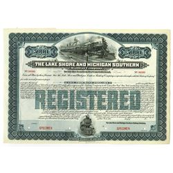 Lake Shore and Michigan Southern Railway Co., 1903 Specimen Bond