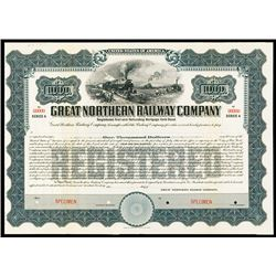 Great Northern Railway Co., 1911 Specimen Bond.