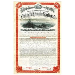 North Pacific Railway Co., 1879 Specimen Bond