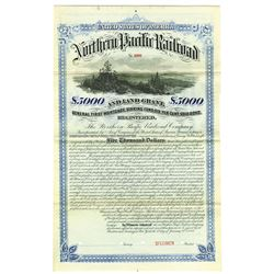 North Pacific Railway Co., 1881 Specimen Bond