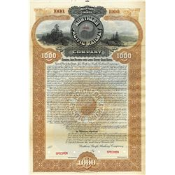 North Pacific Railway Co., 1896 Specimen Bond