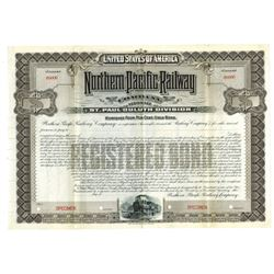 North Pacific Railway Co., ca.1900-1910 Specimen Bond