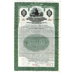 St. Louis Southwestern Railway Co., 1931 Specimen Bond