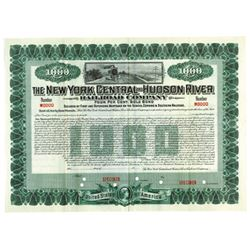 New York Central and Hudson River Railroad Co., ca.1910-1920 Specimen Bond