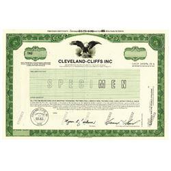 Cleveland-Cliffs Inc., 1985 Specimen Stock Certificate