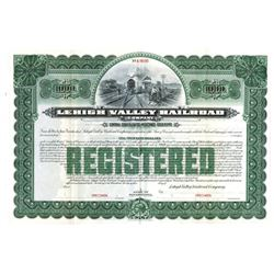 Lehigh Valley Railroad Co., ca.1910-1920 Specimen Bond
