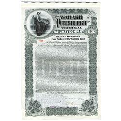 Wabash Pittsburgh Terminal Railway Co., 1921 Issued Bond
