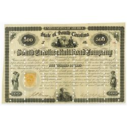 South Carolina Rail Road Co., 1866 Issued Bond