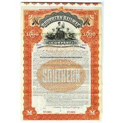 Southern Railway Co., 1894 Specimen Bond