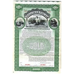Southern Railway Co., 1901 Specimen Bond