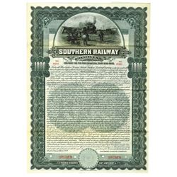 Southern Railway Co., 1904 Specimen Bond