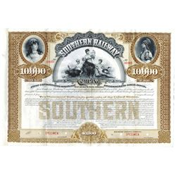 Southern Railway Co., ca.1900-1910 Specimen Bond