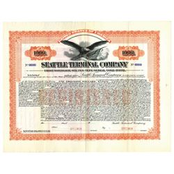 Seattle Terminal Co., ca.1920-1930 Specimen Bond