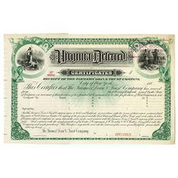 Virginia Deferred Certificates, 1882 Specimen Bond.`